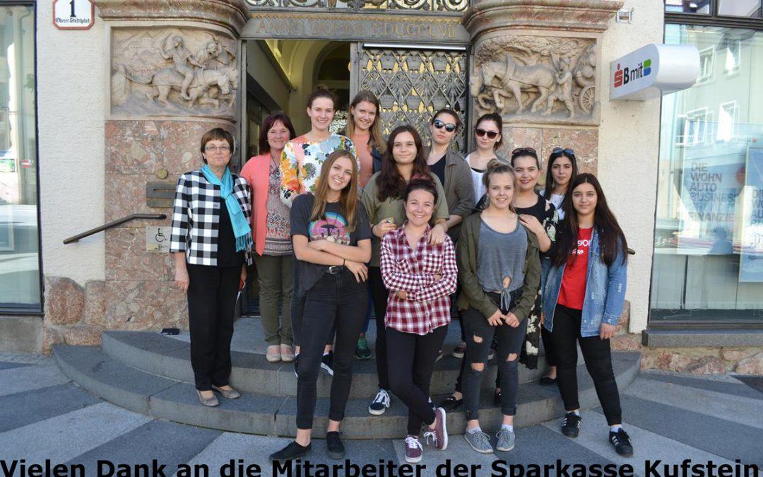 Betriebsbesichtigung Sparkasse Kufstein