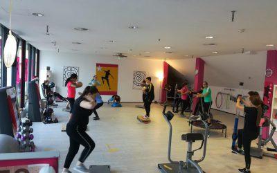 Besuch des Fitnessstudios Mrs. Sporty in Wörgl