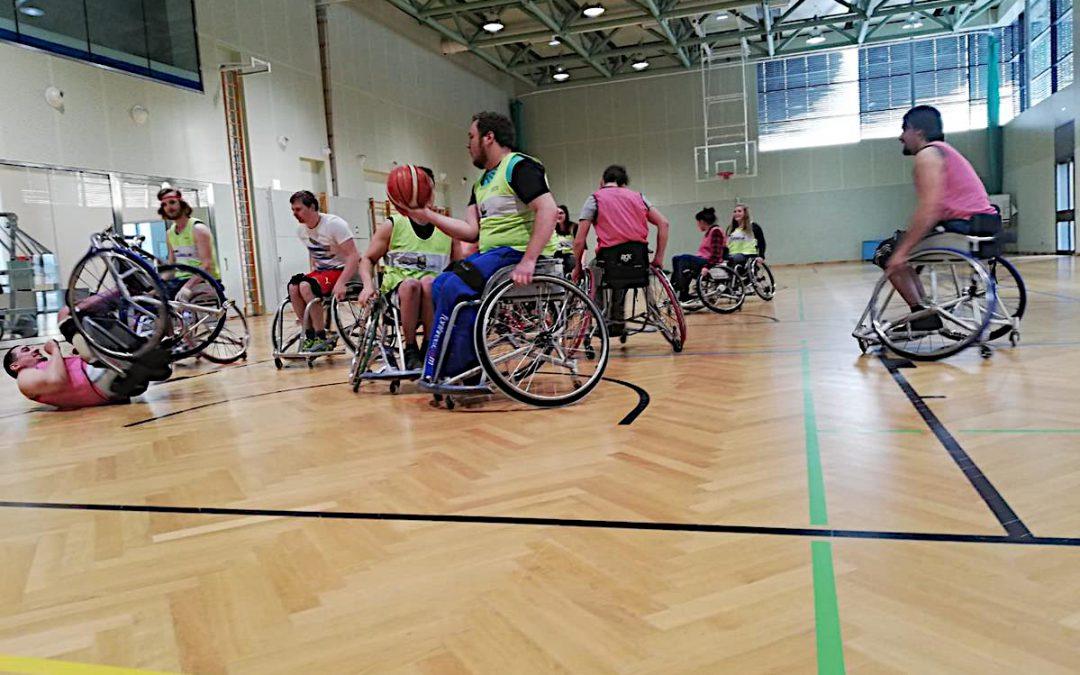Rollstuhlbasketball 3AL