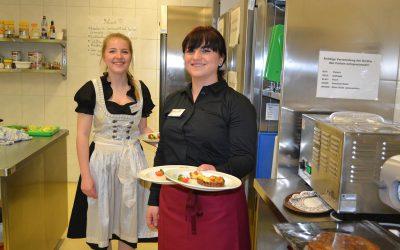 Abschlussprüfungen in Küche und Service II