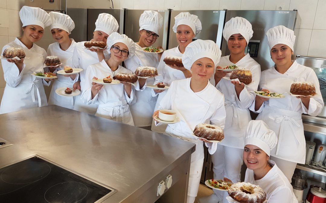 Erfolgreicher Start in den Koch-Unterricht