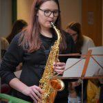 gelungenes Solo mit Saxophon