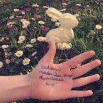 Hand im Garten