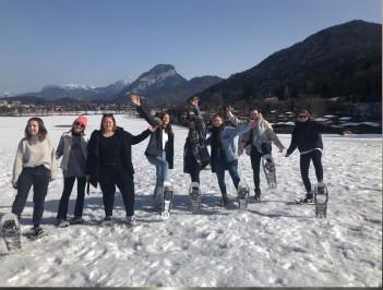 Schneeschuh-Wandern II