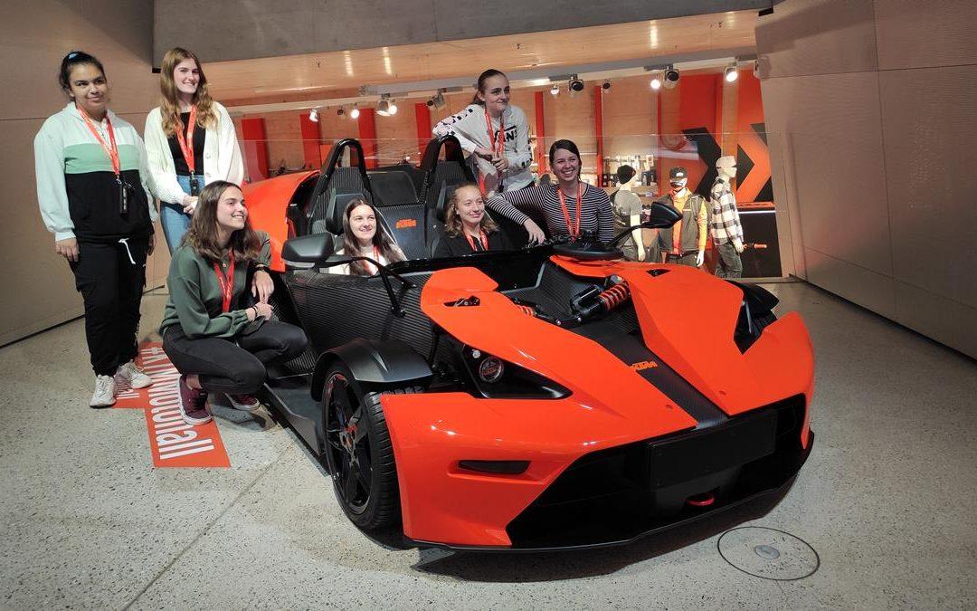 2AFW: Besuch der KTM-Motohall